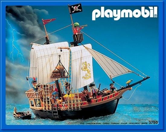 galeone playmobil