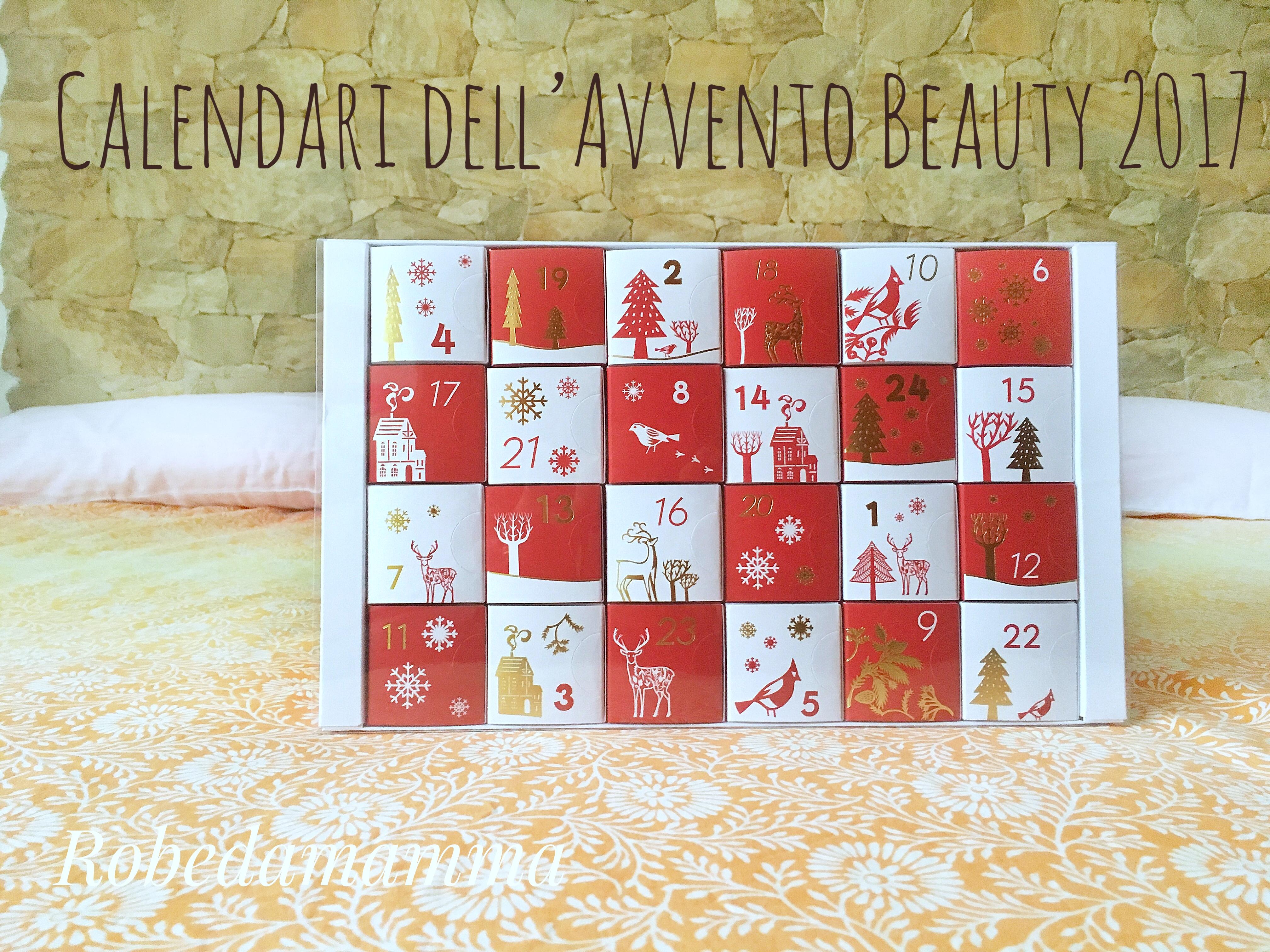 Calendario Avvento Yves Rocher.Calendari Dell Avvento Beauty 2017